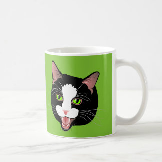 Cat Chat paws off my tea! by BlissAndKittens Coffee Mug