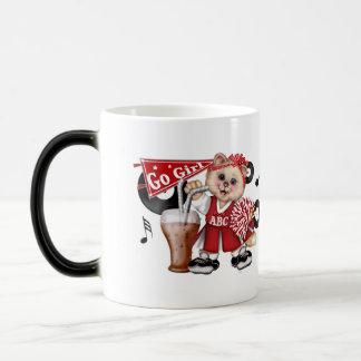 CAT CHEERLEADER CUTE FUN Morphing Mug 11 onz
