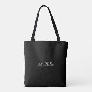 Cat Chilling Tote Bag