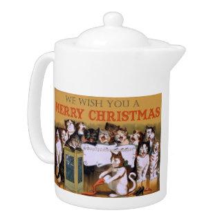Cat Christmas Choir