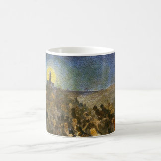 Cat City - Vintage Art - Customizable! Coffee Mug