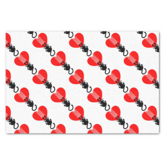 Cat Claw Heart Tissue Paper