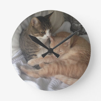 Cat Clock - Banjo and Yogi