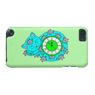 Cat Clock iPod Touch 5G Cover