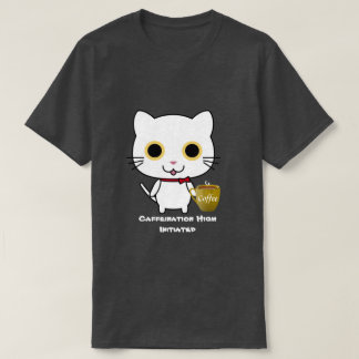 Cat Coffee High T T-Shirt