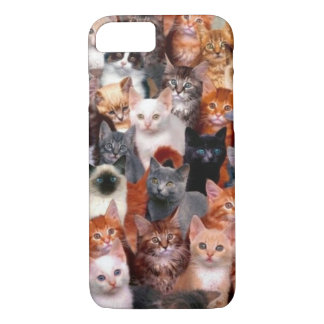 Cat Collage iPhone 8/7 Case