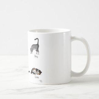 Cat Commands Classic White Coffee Mug
