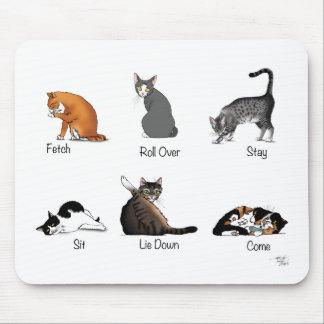 Cat Commands Mouse Pad