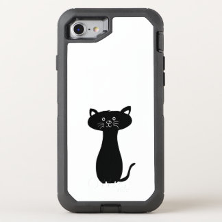 cat cute baby animal fun joy happy beautiful OtterBox defender iPhone 8/7 case