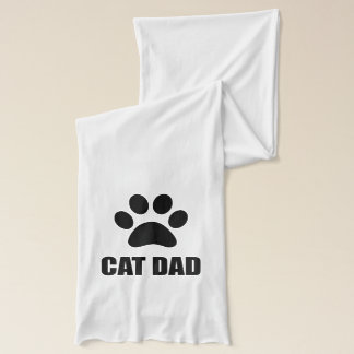 Cat Dad Paw Scarf