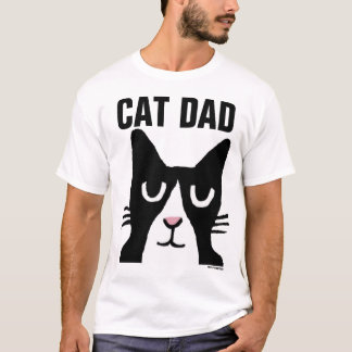 CAT DAD TUXEDO CAT -SHIRTS T-Shirt
