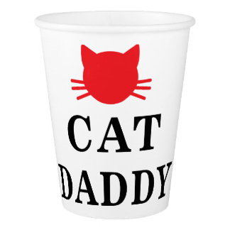 Cat Daddy Paper Cup