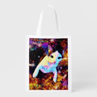 Cat Dance Kitty Colorful Cute Disco Bag Tote