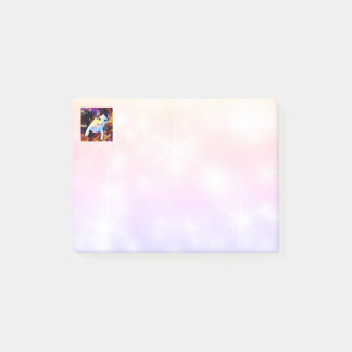 Cat Dance Kitty Colorful Cute Disco Post It Notes
