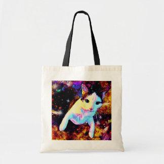 Cat Dance Kitty Colorful Cute Disco Tote Bag