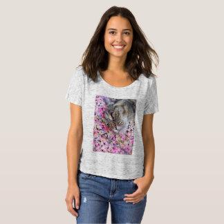 Cat Daydreamer T-shirt women