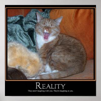 Cat Demotivator Poster
