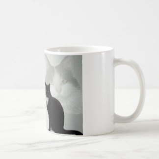 Cat Design - Friend Poem Coffee Mug