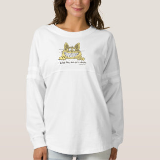 Cat Does Bad Things When You Sleep Spirit Jersey