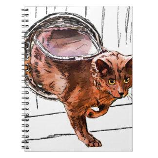 cat door notebook