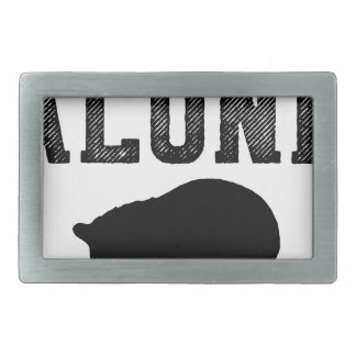 Cat - Drinking alone - Perfect gift for cat mom Belt Buckle