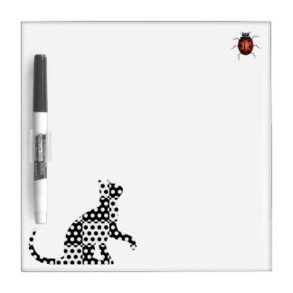 Cat Dry-Erase Board