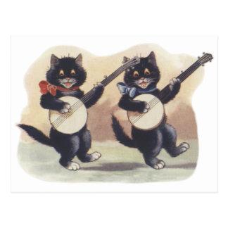 Cat Duo Postcard