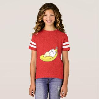 Cat Durimiendo Banana T-Shirt