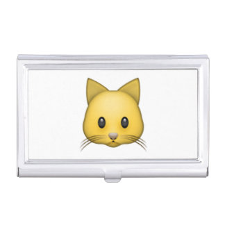 Cat - Emoji Business Card Holder