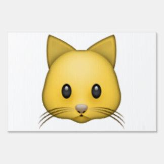 Cat - Emoji Sign