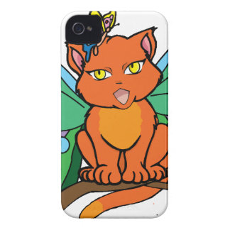 Cat-er-Fly iPhone 4 Case-Mate Case