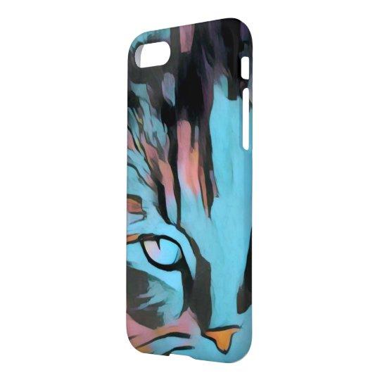 cat eye art iPhone 7 case