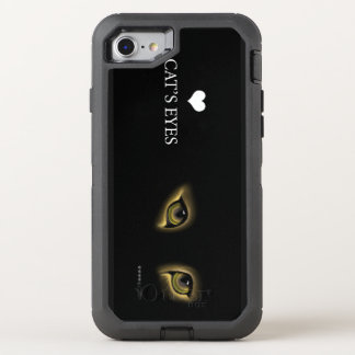 CAT EYE I PHONE OtterBox DEFENDER iPhone 8/7 CASE