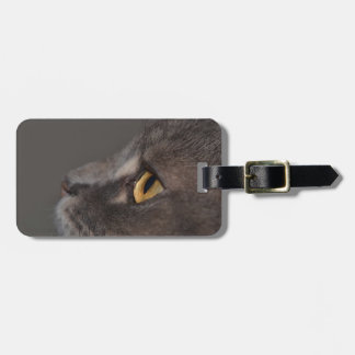Cat Eye-Macro by Shirley Taylor Luggage Tag