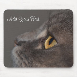 Cat Eye-Macro by Shirley Taylor Mouse Pad