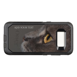 Cat Eye-Macro by Shirley Taylor OtterBox Commuter Samsung Galaxy S8 Case