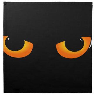 Cat eye napkin