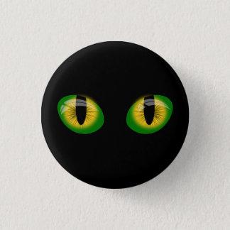 cat eyes 1 inch round button