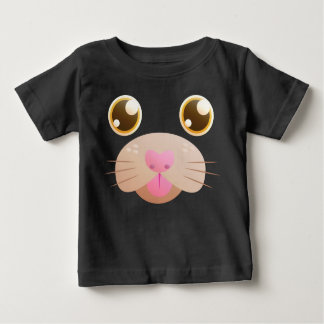 Cat Face Baby T-Shirt