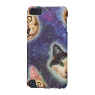 cat face - cat - funny cats - cat space iPod touch (5th generation) cover