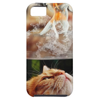 Cat Face Goldfish Glass Close View Eyes Portrait iPhone 5 Covers