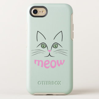 Cat face OtterBox symmetry iPhone 8/7 case