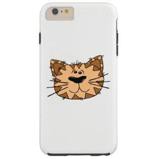 Cat Face Tough iPhone 6 Plus Case