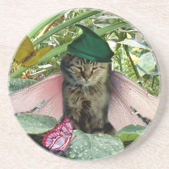 Cat Fairy Elf Coaster