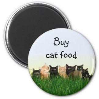 Cat family magnet