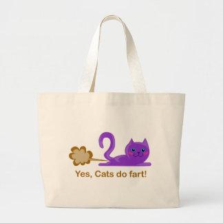 Cat fart - farting cat bags