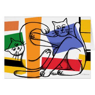 Cat Fight Card