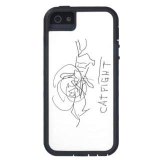 Cat Fight on Iphone Case iPhone 5 Cases