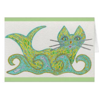 Cat-fish notecard
