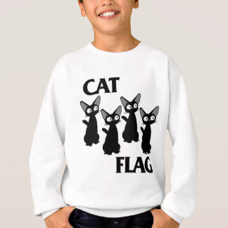CAT FLAG 2 SWEATSHIRT